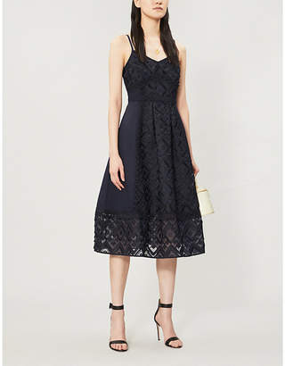 Ted Baker Leeeo lace midi dress