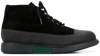 Emporio Armani lace-up ankle boots