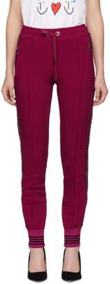 Dolce & Gabbana Pink Cady Lounge Pants