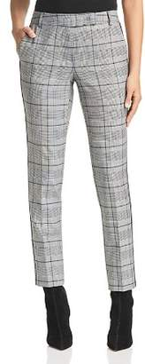 Marella Dorema Cropped Glen Plaid Pants