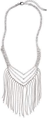 Lula Crystal & Fringe Necklace