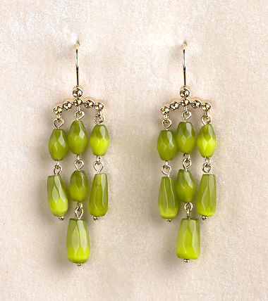 Monet Linear Chandelier Earrings