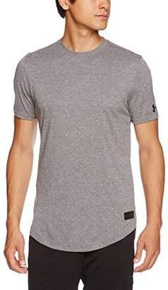 Under Armour (アンダー アーマー) - (アンダーアーマー)UNDER ARMOUR ベースラインロングラインTシャツ(バスケットボール/Tシャツ/MEN)[1312610] 090 CBH/CBH/BLK SM