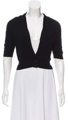 Max Mara Weekend Cropped Short Sleeve Cardigan