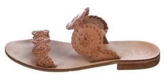 Jack Rogers Leather Flat Sandals