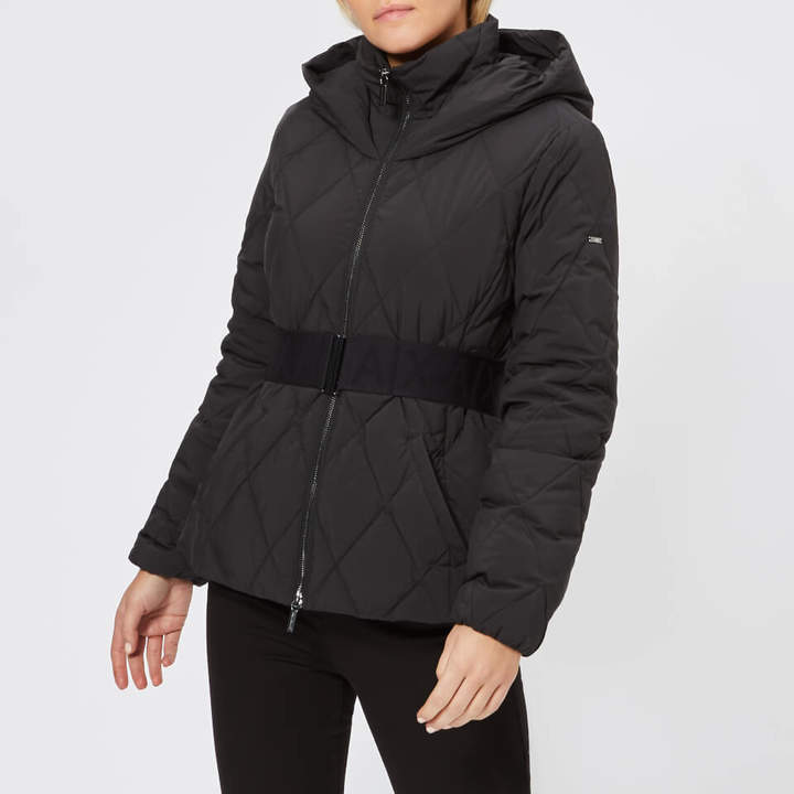 Women's Short Quilted Hooded Coat