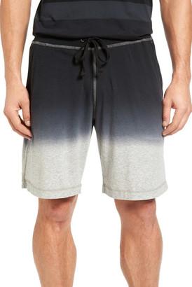 Daniel Buchler Ombre Pima Cotton Lounge Shorts $88 thestylecure.com