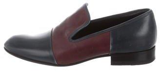 CelineCéline Bicolor Leather Loafers