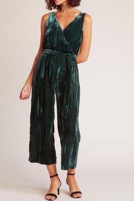 BB Dakota Velvet Jumpsuit, Emerald