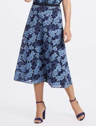 Draper James Collection A-Line Lace Skirt