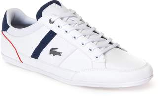 Lacoste Mens Chaymon Nappa Leather and Mesh Trainers