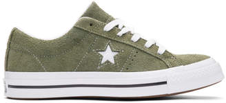 Converse Green Suede One Star Ox Sneakers