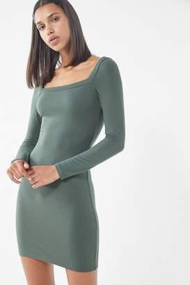 Urban Outfitters Mariella Square-Neck Mini Dress