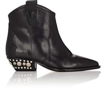 Isabel Marant Women's Dawyna Leather Ankle Boots