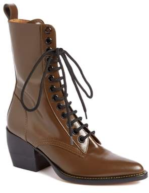 Chloé Rylee Lace-Up Boot