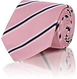 Bigi BIGI MEN'S DIAGONAL-STRIPE CORDED SILK NECKTIE