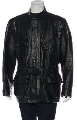Polo Ralph Lauren Leather Utility Jacket