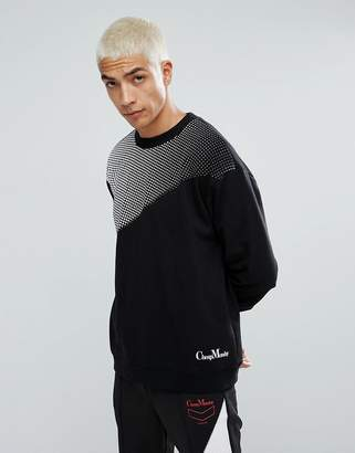 Cheap Monday Victory Sweatshirt in Black
