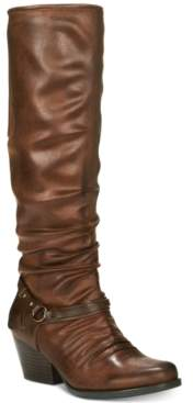 Bare Traps Baretraps Roz Block-Heel Riding Boots, Created for Macy's Women's Shoes