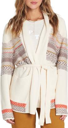 Billabong We Wrapping Belted Cardigan