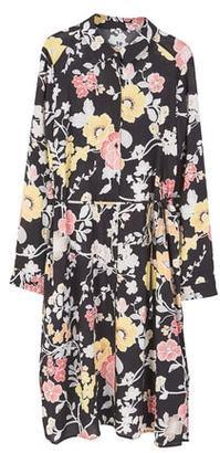MANGO Printed shirt dress