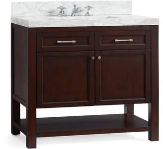 Pottery Barn Piedmont Single Sink Vanity - Espresso