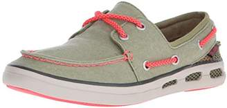 Columbia Women's Vulc N Vent Boat Canvas Casual Shoe
