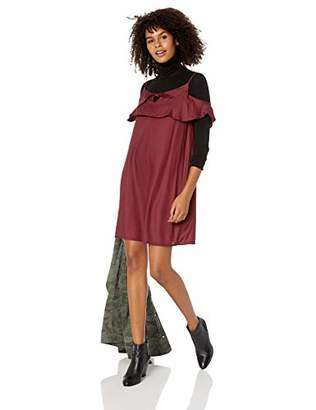 Roxy Junior's Still Waking Up Solid Dress,XL