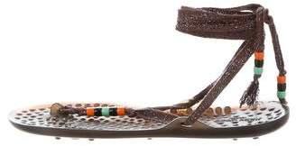 Jimmy Choo Waikiki Lace-Up Sandals