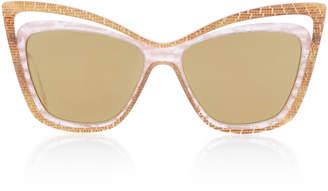 Christian Roth Rock 'N Roth Cat-Eye Sunglasses