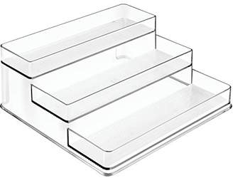 InterDesign Linus Spice Organizer Rack – 3-Tiered Storage for Kitchen Pantry
