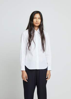 Comme des Garcons Cotton Broad Button Front Shirt