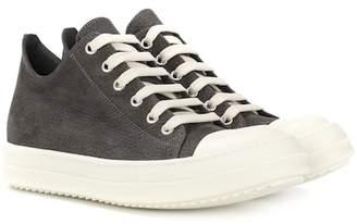 Rick Owens Nubuck leather sneakers