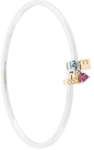 18kt gold and diamond Love bracelet