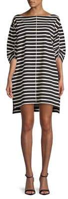 Marc Jacobs Breton Striped Cotton Dress