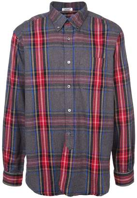 Engineered Garments button-down checked shirt