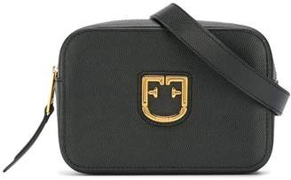 Furla logo plaque belt bag
