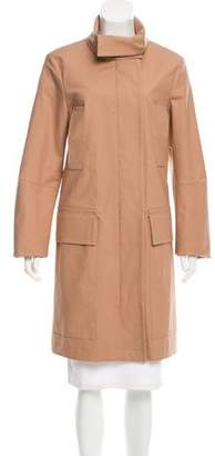 Michael Kors Knee-Length Button-Up Coat
