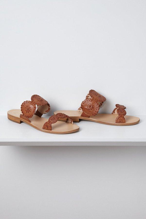Anthropologie Banded Halo Sandals