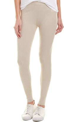 Vince Ribbed Wool-Blend Legging