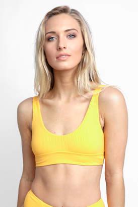 Vitamin A Sunflower Sienna Bikini Top