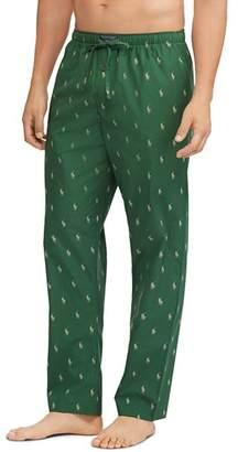 Polo Ralph Lauren Logo-Print Pajama Pants