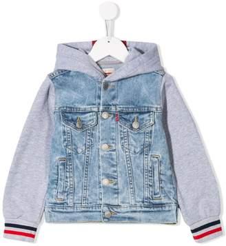 Levi's Kids denim bomber jacket
