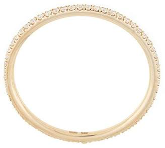 Natalie Marie 14kt yellow gold Queenie full diamond band