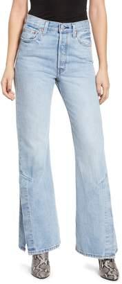 Levi's Ribcage Super High Waist Split Flare Jeans