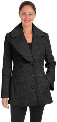Fleet Street Women's Boucle Wool-Blend Coat