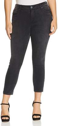 SLINK Jeans Plus High Rise Ankle Skinny Jeans in Sasha