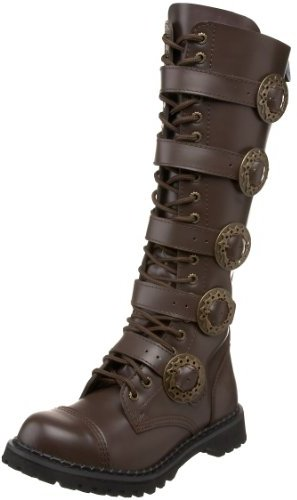 Pleaser USA Men's Steam20-BN/LE Leather Boot