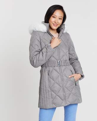 Dorothy Perkins Diamond Quilted Padded Coat