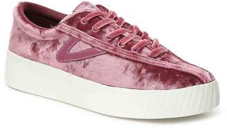Tretorn NY Lite 4 Bold Velvet Platform Sneaker - Women's